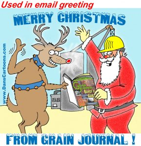 christmas season cartoon greetings