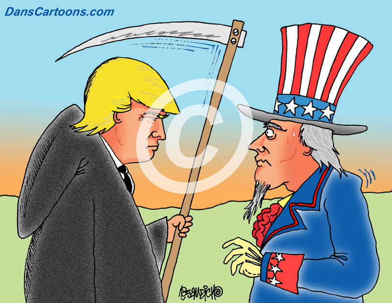 Image of: Stephen Colbert Donaldtrumpcartoons4jpg Cnet Donald Trump Cartoons For Licensing In Print And Digital