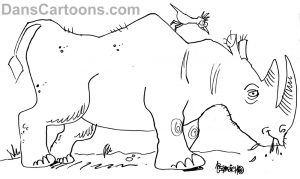 rhinoceros cartoons