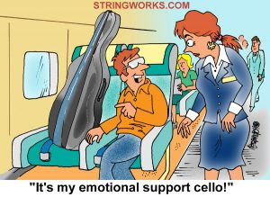 cello cartoons