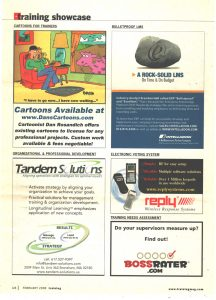 cartoon service advertising