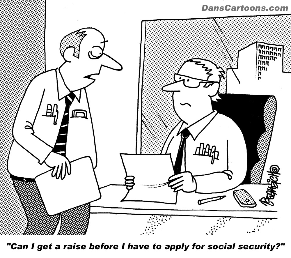social security cartoon
