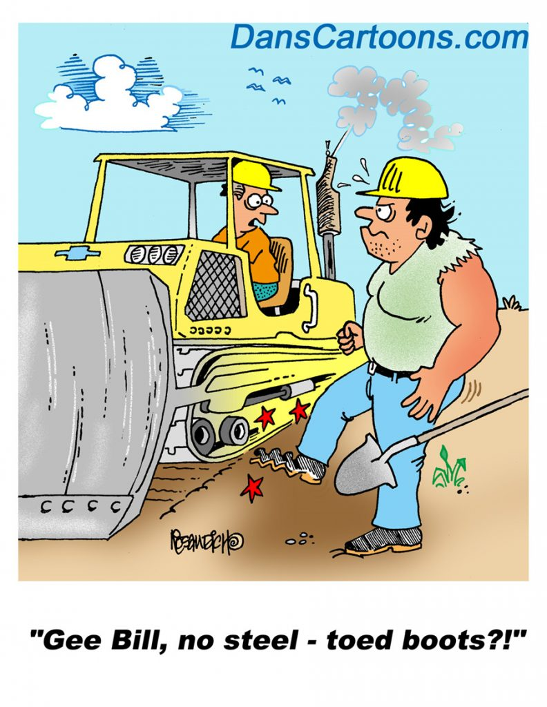 construction cartoons