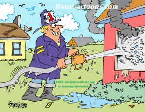 firefighter cartoons
