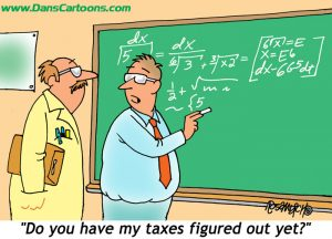 tax cartoons